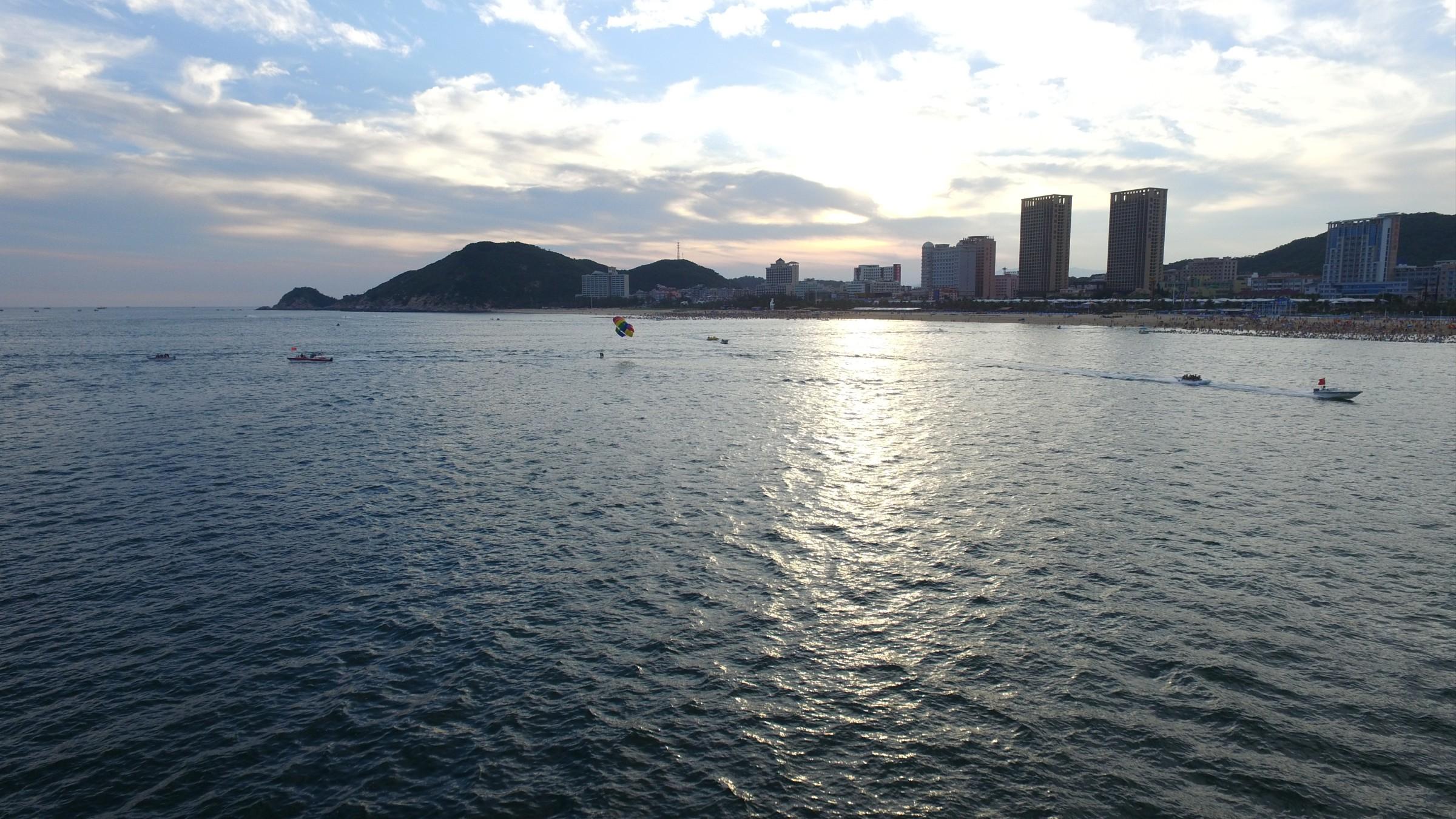 阳江海陵岛-蓝蓝的大海