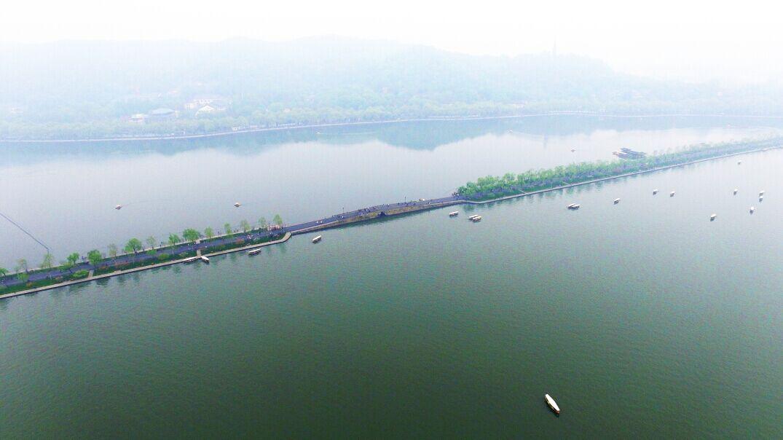 杭州西湖航拍