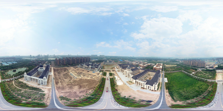 河南农业大学龙子湖校区最早设计图展示