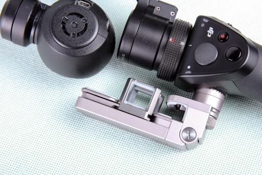 大疆osmo手持云台相机摄像头&手柄连接触点