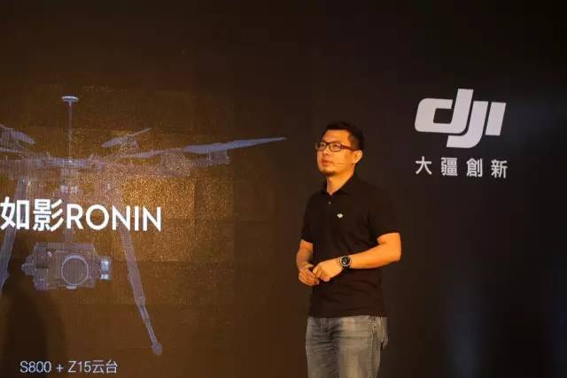 ↑ 大疆传媒CEO乔岩分享如影2产品特性