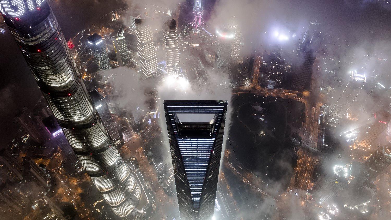 1月15日的平流雾,终于等到你!平流雾之夜的上海