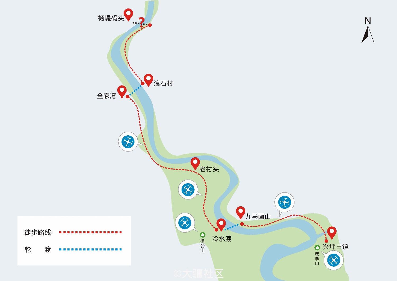 阳朔兴坪度假区规划图